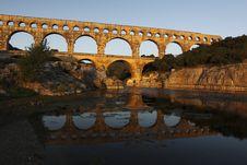 Free Pont Du Gard Royalty Free Stock Image - 15099956