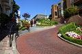 Free Lombard Street, San Francisco Stock Photo - 1516320