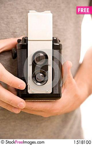 Free Vintage Camera Stock Photo - 1518100