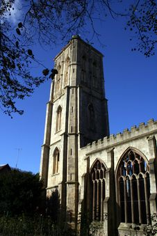 Free Temple Church Bristol Stock Image - 1510311