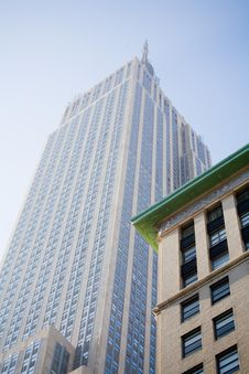 Building In Downtown Manhattan Royalty Free Stock Photo