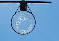 Free Basketball Hoop Stock Image - 1512001