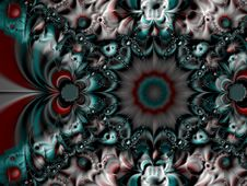 Free Symmetrical Spiral Fractal Royalty Free Stock Photos - 1514138
