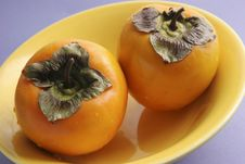 Free Persimmon. Stock Photography - 1515472