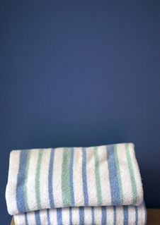 Free Stacked Towels Stock Photography - 1516232