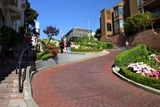 Free Lombard Street, San Francisco Stock Photo - 1516320