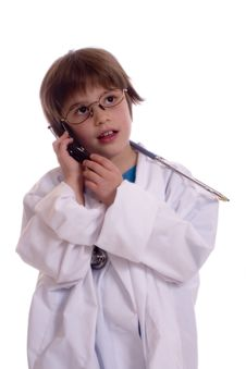 Free Young Doctor Stock Photography - 1517062