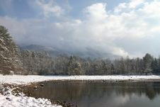 Free Snow At Indian Boundary Royalty Free Stock Images - 1517809