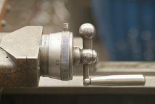Free Detail Of Turning Machine Royalty Free Stock Image - 1518726