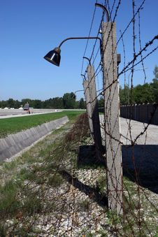 Free Fence At Concentration Camp Stock Photography - 1518762