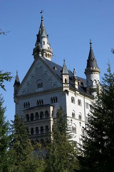Free Castle In Germany Royalty Free Stock Image - 1518776