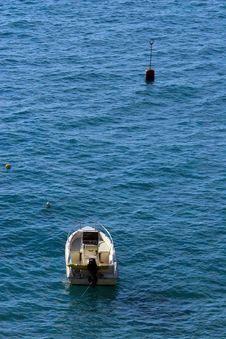 Free Boat In Mediterranean Stock Photo - 1518870