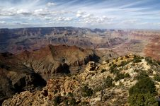 Free Grand Canyon From Yaki Point Royalty Free Stock Photo - 1519845