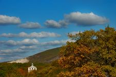 Free Crimean Hills In Green And Yellow Royalty Free Stock Photo - 1519875