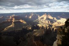 Free Grand Canyon From Hopi Point Royalty Free Stock Image - 1519936