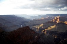 Free Grand Canyon From Hopi Point Royalty Free Stock Photography - 1519937