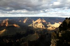 Free Grand Canyon From Hopi Point Stock Photography - 1519942