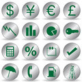 Free Finance Icons Stock Image - 15103261