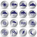 Free Weather Icons Royalty Free Stock Photography - 15103267