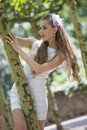 Free Young Bride Outdoor Stock Image - 15107871