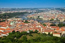 Free View Of Prague City Royalty Free Stock Photo - 15100585