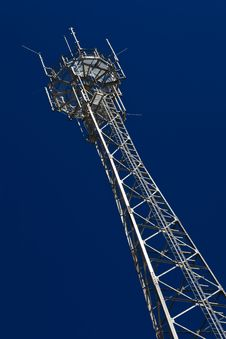 Free Telecommunication Tower. Stock Photography - 15100712