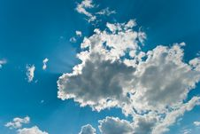 Free Blue Sky Royalty Free Stock Photo - 15100775