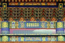 Free Colorful Chinese Decoration Art Royalty Free Stock Photography - 15100797