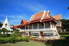 Free Old Temple, Ayutthaya, Thailand, Stock Image - 15101051