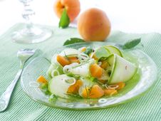 Free Zucchini Appetizer Stock Photography - 15101062