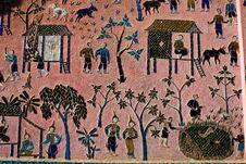 Free Laos Ancient Art Royalty Free Stock Photos - 15101678