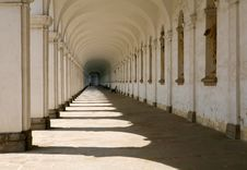 Free Colonnade In Kromeriz Stock Photo - 15101810