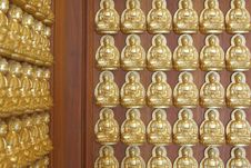 Free Pattern Of Gold Buddha Doll Stock Images - 15102064