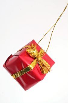 Free Red Gift Box Stock Photo - 15102490