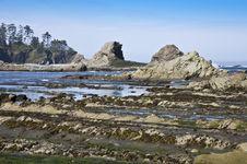 Free Sunset Bay, Oregon Coast USA Stock Image - 15102691