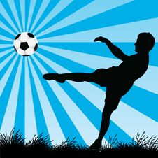 Free Soccer Player Royalty Free Stock Photo - 15103425