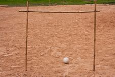 Free Sand Ground For Football Royalty Free Stock Photo - 15103685