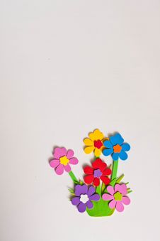 Free Anny Flower On White Background Stock Images - 15103724