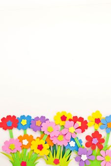 Free Anny Flower On White Background Royalty Free Stock Photography - 15103727