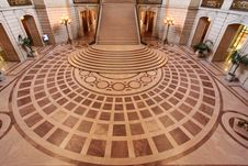 Free San Francisco City Hall Interior Stock Image - 15104201