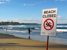 Free Beach Closed Stock Images - 15104454