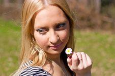 Free Blond Girl Stock Photo - 15105700