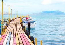 Free Colourful Pie In Sea Stock Image - 15106461