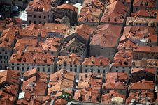Free Roofs In Dubrovnik Stock Images - 15106744