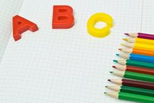 Free Color Pencils Royalty Free Stock Photo - 15106855