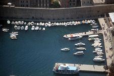 Free Dubrovnik Harbor Stock Photo - 15107000