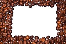 Free Coffee Beans Frame Stock Photo - 15108230