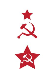 Communist Signs And Symbols Stock Image
