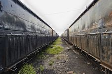 Train Car Royalty Free Stock Photography
