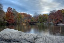 Free Autumn In Central Park Royalty Free Stock Images - 15108529